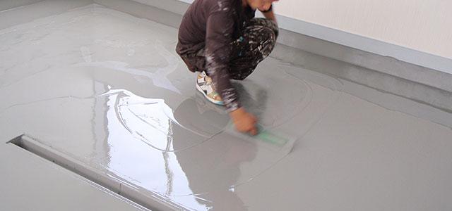 塗床工事のポイント