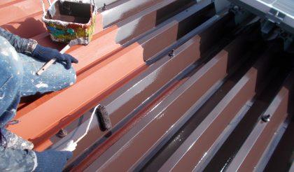 名古屋市・プラスチック製造工場 外壁・屋根塗装