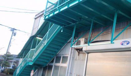 安城市・ウレタン部品工場 外壁塗装