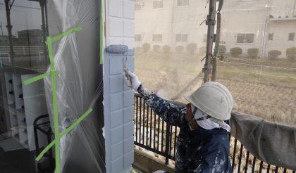 一宮市・製造販売メーカー社屋 外壁・屋根塗装